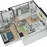 Isometría Apartamento Tipo 10