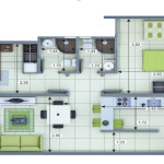Planta Apartamento Tipo 4