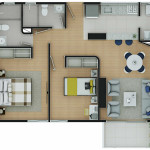 Plano Apartamento Tipo 6