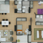 Plano Apartamento Tipo 9